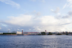 Neva river in Saint Petersburg Stock Images