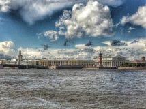 Neva river, Saint Petersburg Stock Photography