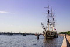 Neva River, Saint Petersburg, Russia Stock Image