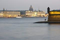 The Neva River, St. Petersburg Stock Photos