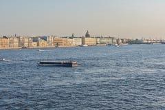 Neva, St Petersburg, Rosja Zdjęcia Royalty Free