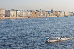 Neva, St. Petersburg, Rusland Royalty-vrije Stock Foto