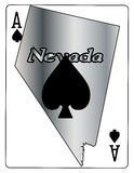 Nevada Ace Of Spades Photos libres de droits
