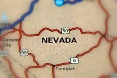 Nevada Amerikas förenta stater USA Royaltyfri Bild