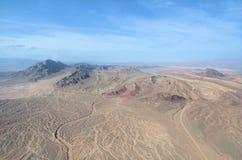 Nevada-Ansicht von der hohen Höhe Lizenzfreie Stockfotos