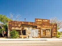 Nevada constructivo abandonado Foto de archivo libre de regalías