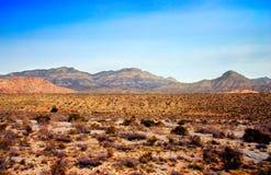 Nevada czerwone skały canyon obraz stock