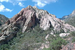 Nevada czerwone skały canyon Zdjęcie Stock