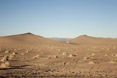 Nevada desert. Beautiful view of Nevada desert royalty free stock image