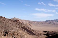 Nevada desert. Open Nevada desert in the summer royalty free stock images