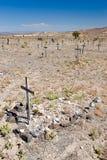Nevada desert cemetery Stock Image