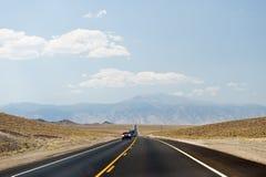 Nevada desert highway Stock Photo