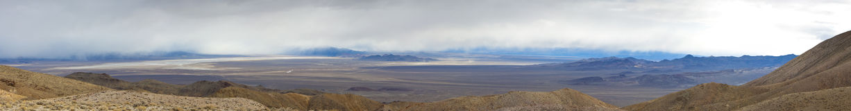 Nevada Desert Panorama Royalty Free Stock Photography