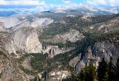 Nevada e quedas Vernal Yosemite Fotografia de Stock