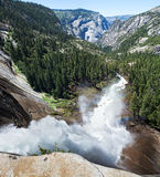 Nevada Fall stock photography