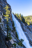 Nevada Fall in Merced-Rivier Royalty-vrije Stock Foto