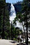 Nevada Fall Yosemite, Californië, de V royalty-vrije stock afbeelding