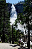 Nevada Fall Yosemite, California, U Immagine Stock Libera da Diritti