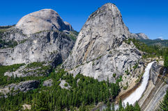 Nevada fall in Yosemite Royalty Free Stock Image