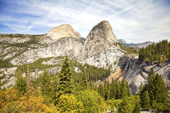 Nevada fall in Yosemite National Park. Stock Images