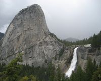 Nevada Falls Royalty Free Stock Photo