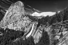 Nevada Falls Arkivfoto