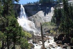 Nevada Falls 2. Nevada Falls cascading down the rocks royalty free stock images