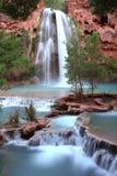 Nevada falls at dusk Royalty Free Stock Photo