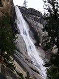 Nevada Falls i den Yosemite nationalparken Arkivfoton