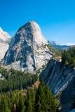 Nevada Falls i den Yosemite nationalparken Arkivbilder