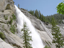 Nevada Falls in Yosemite 3 Royalty Free Stock Image