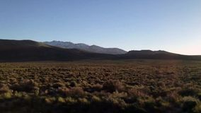 Nevada Fields Panorama stock footage