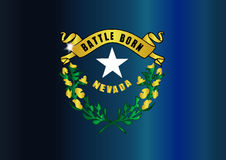 Nevada Flag Icon Immagine Stock Libera da Diritti