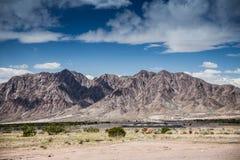 Nevada góry, usa Zdjęcia Royalty Free