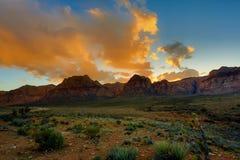 Nevada góry, usa Obraz Stock