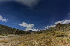 Nevada góry, usa Fotografia Royalty Free