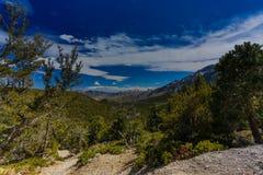 Nevada góry, usa obrazy royalty free