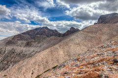 Nevada-Great Basin National Park-Wheeler Peak Trail Royalty Free Stock Photos