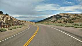 Nevada Highway stockfotografie
