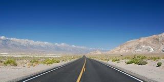 Nevada highway Royalty Free Stock Photos