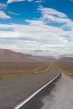Nevada huvudväg 50 Royaltyfri Fotografi