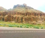 Nevada hwy-318 Stock Afbeeldingen