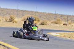 Nevada Kart Club Racer do norte foto de stock