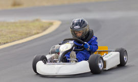 Nevada Kart Club Racing du nord photographie stock