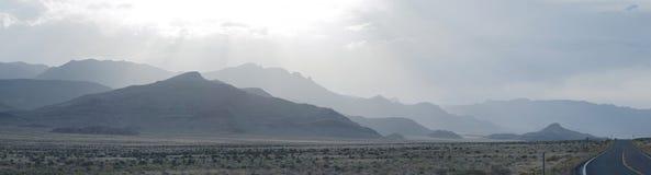 Nevada krajobrazowa panorama Utah Fotografia Royalty Free