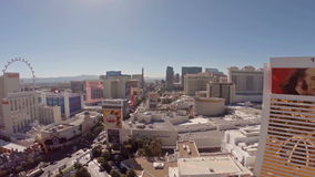 Nevada Las Vegas aérea video estoque