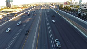 Nevada Las Vegas aérea almacen de video