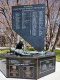 Nevada Law Enforcement Officers Memorial Royaltyfri Foto