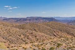Nevada Mojave pustyni krajobrazu środowisko obraz stock
