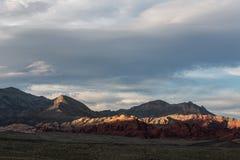 Nevada Mountains, los E.E.U.U. imágenes de archivo libres de regalías